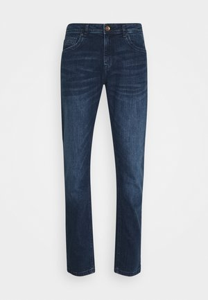 DOUGLAS - Straight leg jeans - dark used