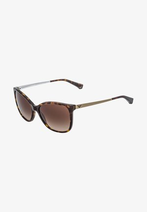 Sunglasses - dark brown/gold