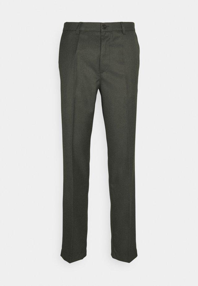 POND SUIT PANTS - Pantaloni - dark olive