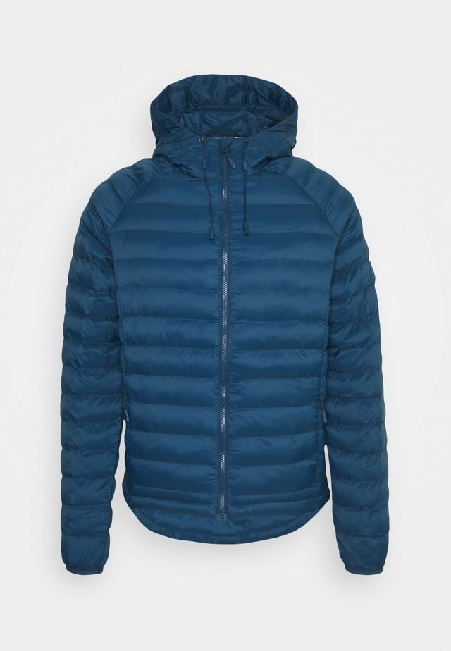 ECO ACTIVE THERMORE HOOD JACKET - Light jacket - moonlite ocean