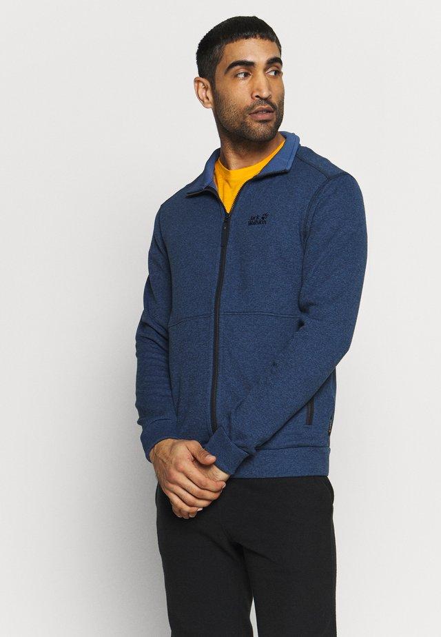 FINLEY JACKET - Fleece jacket - night blue