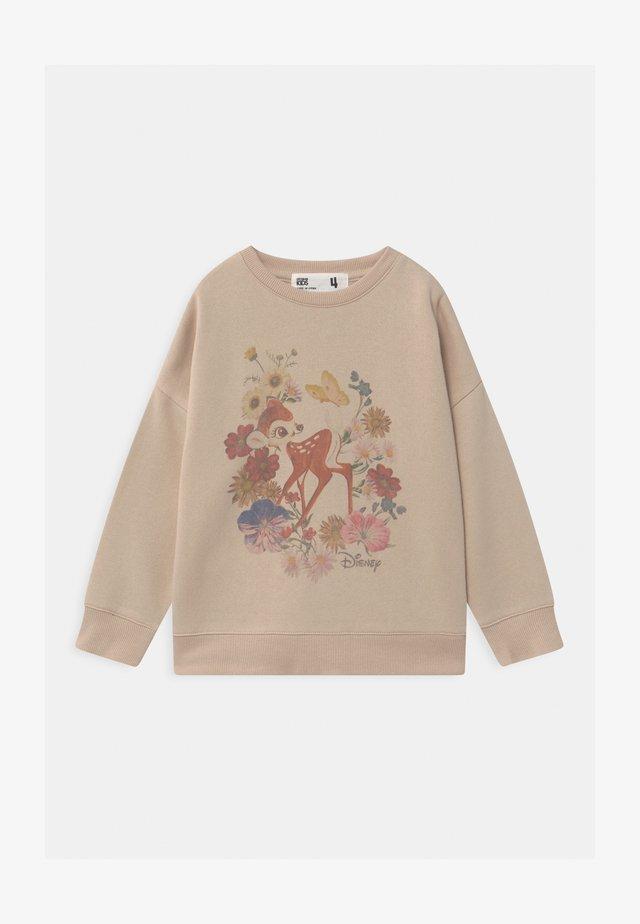 DISNEY BAMBI CREW - Sweatshirt - beige