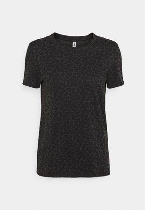 ONLGINA LIFE - Print T-shirt - black/leo