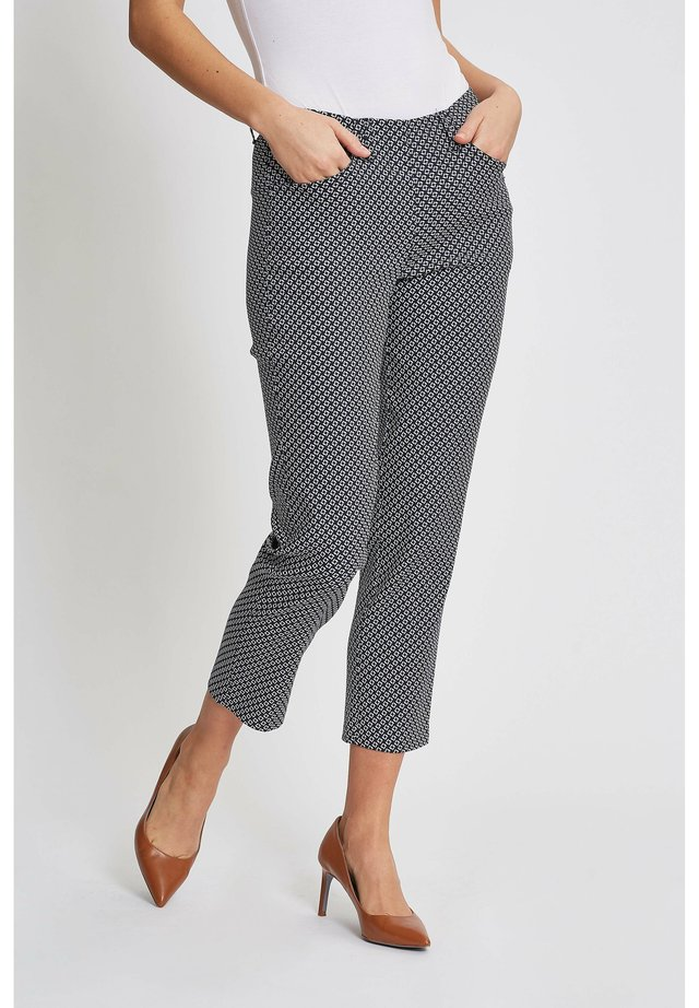 Kelly  - Trousers - navy/white