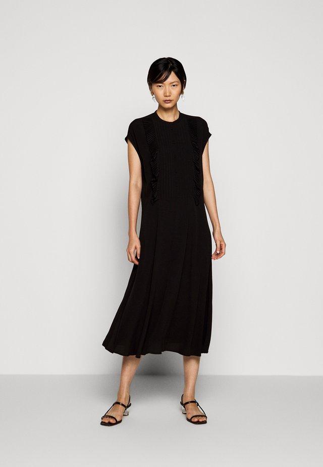 FERRARIA - Košilové šaty - black