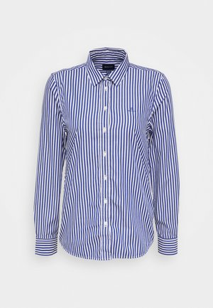 THE BROADCLOTH STRIPED - Button-down blouse - crisp blue