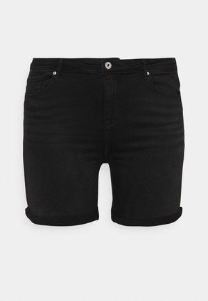 CARLAOLA LIFE - Denim shorts - black