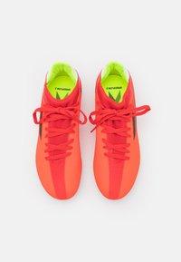 adidas Performance - X SPEEDFLOW.3 FG UNISEX - Kopačky lisovky - red/core black/solar red - 3