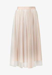 Apart - A-line skirt - creme-nude - 5