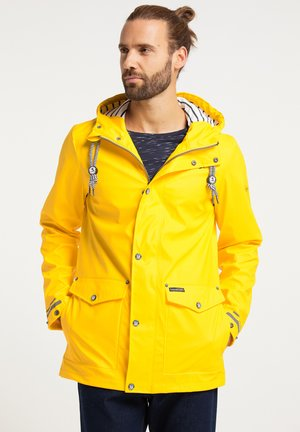 Waterproof jacket - gelb