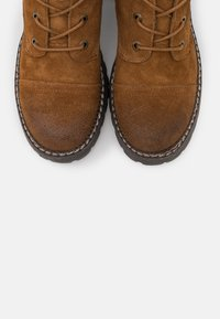 Coolway - JORDAN - Platform ankle boots - brown - 5