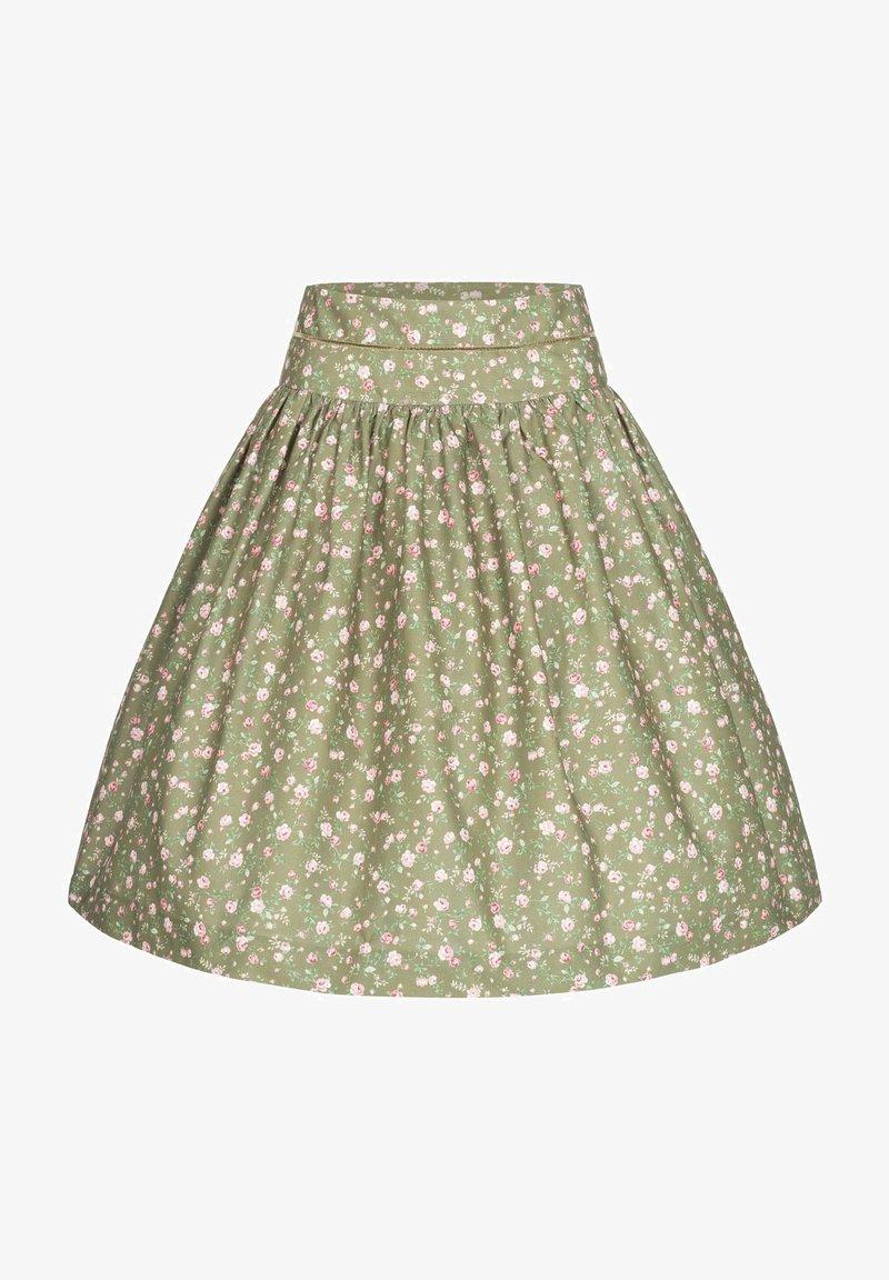 Berwin & Wolff - A-line skirt - grün