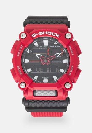 NEW GA HEAVY DUTY STREET - Zegarek chronograficzny - red