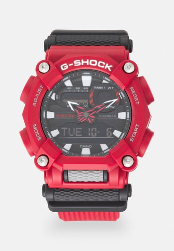 NEW GA HEAVY DUTY STREET - Chronograph watch - red