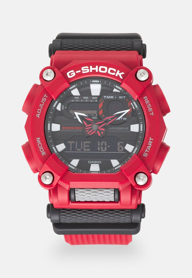 NEW GA HEAVY DUTY STREET - Chronograph watch - red