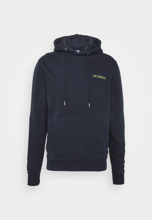 CASUAL HOODIE - Jersey con capucha - mood indigo