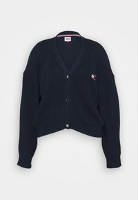 Tommy Jeans Curve - BADGE - Cardigan - twilight navy - 4