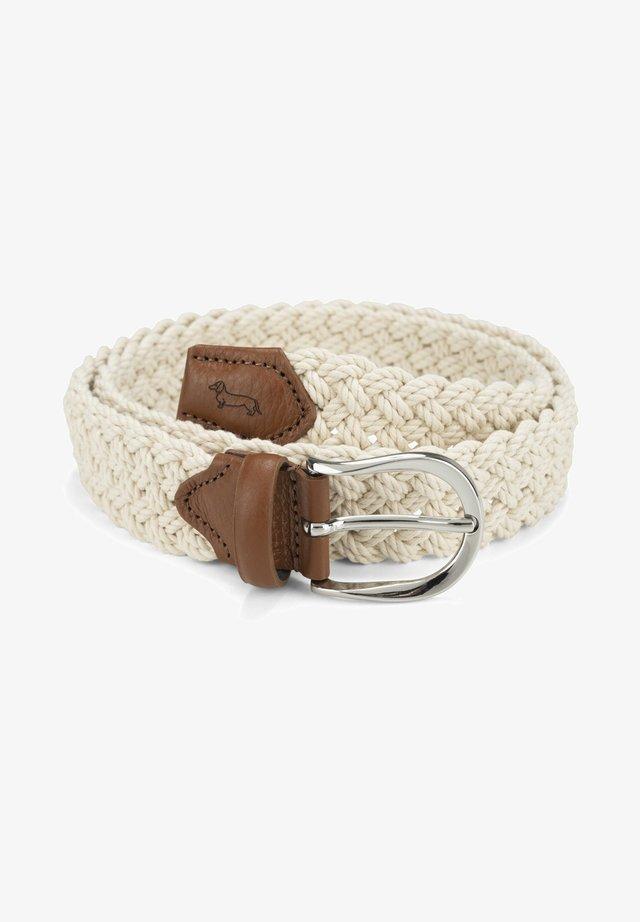 Cintura intrecciata - beige