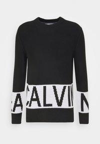 Calvin Klein Jeans - BLOCKING LOGO - Jumper - black - 3