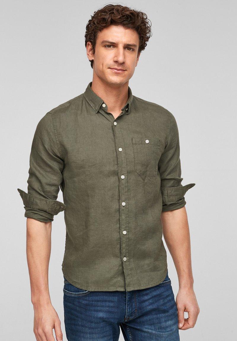 s.Oliver - Shirt - olive