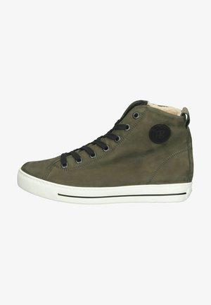 Zapatillas altas - oliv/black
