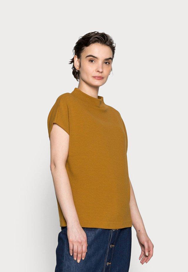 KITTUA STRUCTURE - T-shirt print - cinnamon
