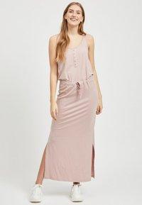 Object - OBJSTEPHANIE MAXI DRESS  - Maxi dress - rose - 1