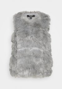Missguided Petite - BUBBLE GILET - Waistcoat - grey - 0