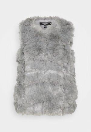 BUBBLE GILET - Vest - grey