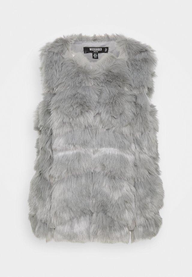 BUBBLE GILET - Waistcoat - grey