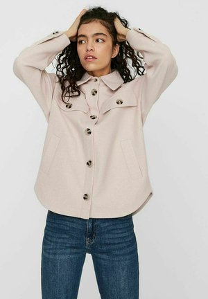 Light jacket - sepia rose