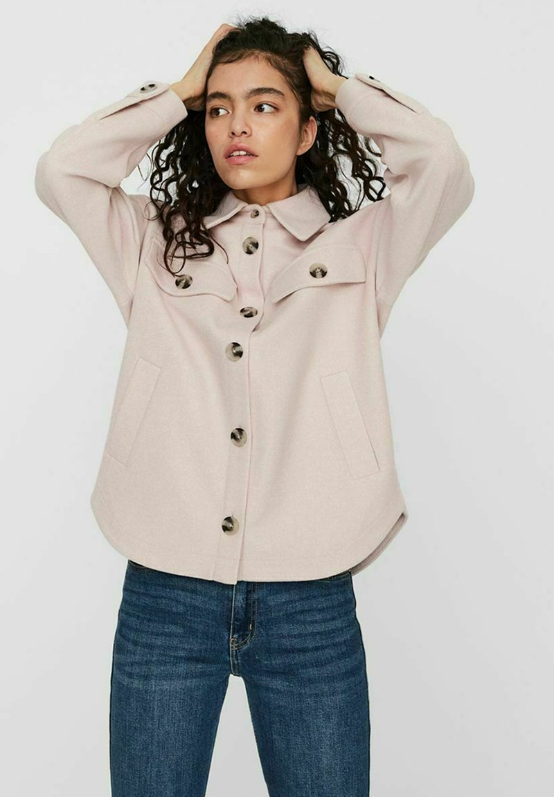 Vero Moda - Light jacket - sepia rose