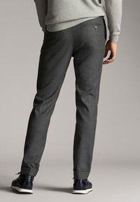 Massimo Dutti - Spodnie materiałowe - dark grey - 2