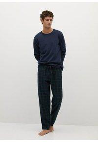 Mango - Pyjama set - bleu marine foncé - 0