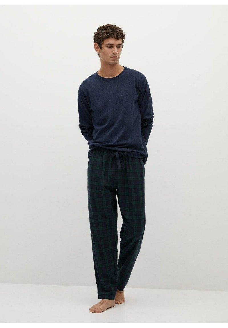 Mango - Pyjama set - bleu marine foncé
