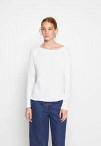 American Vintage - SONOMA - Long sleeved top - blanc - 0