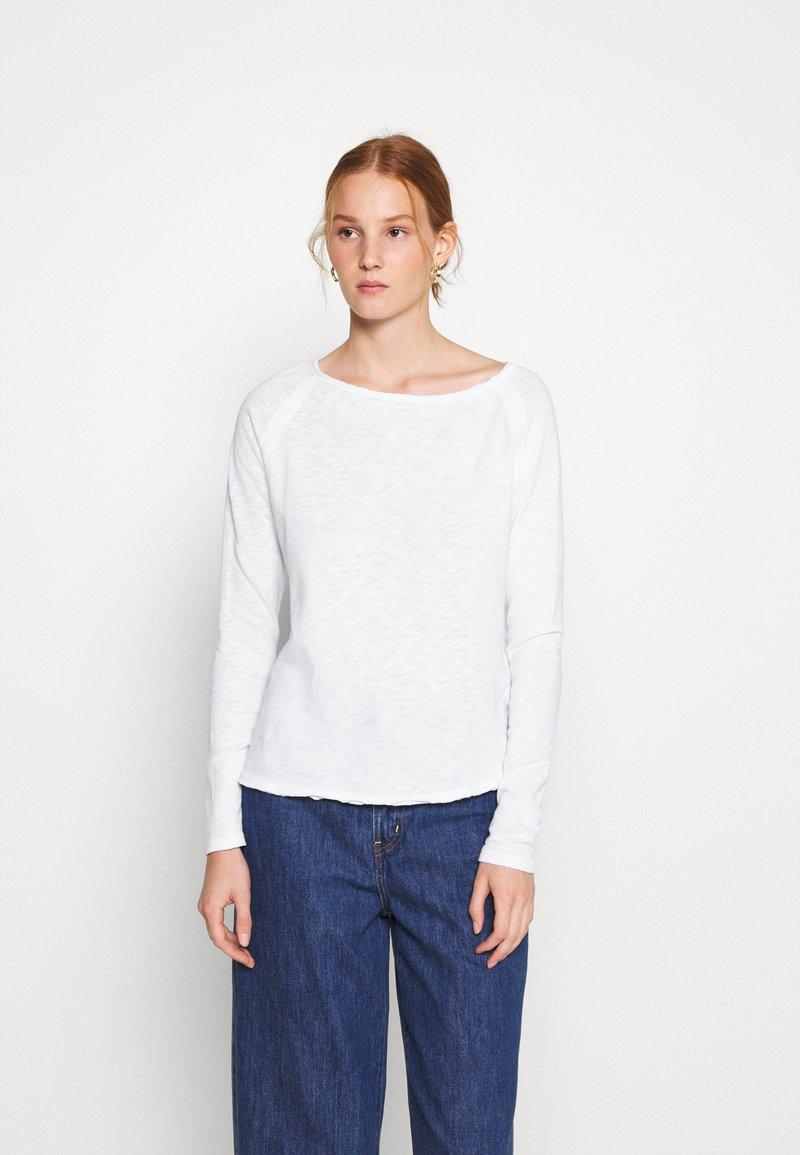 American Vintage - SONOMA - Long sleeved top - blanc