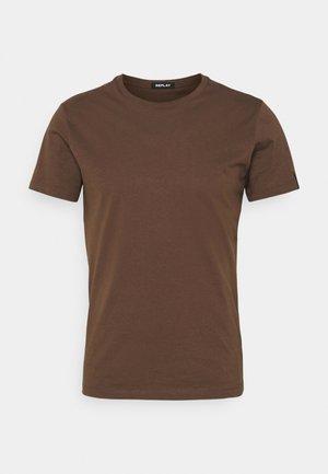 SHORT SLEEVE - T-shirt - bas - brown