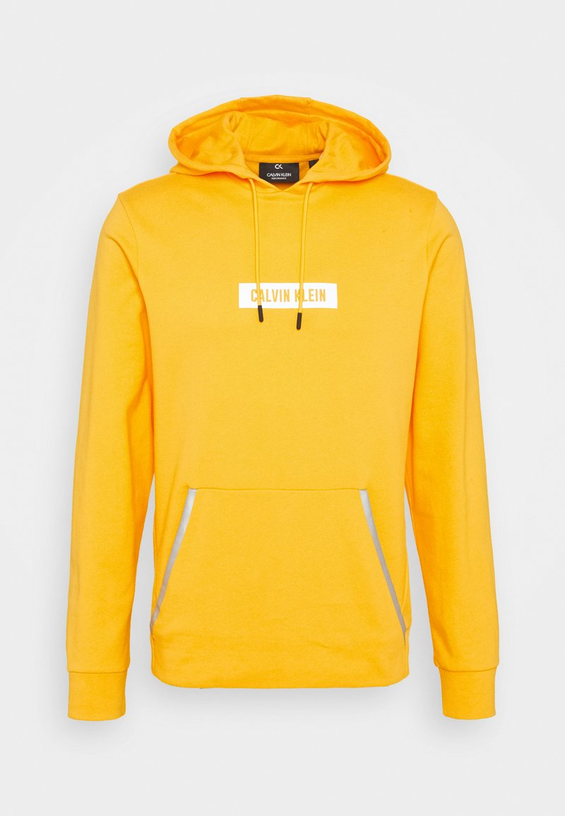 Calvin Klein Performance - HOODIE - Sweater - yellow