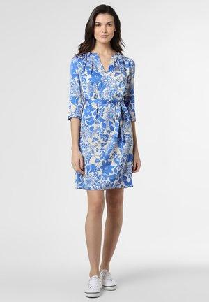 Day dress - blau ecru