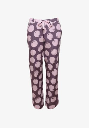 GABRIELLA - Pyjamahousut/-shortsit - aubergine