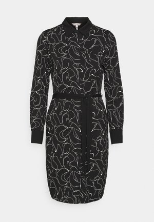 DRESS LINE - Shift dress - black