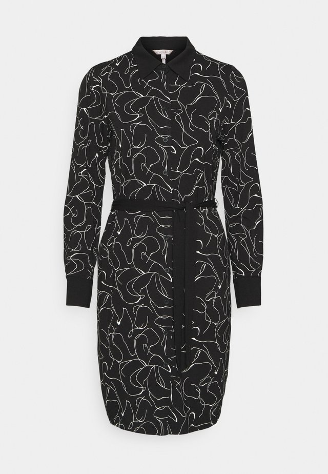 DRESS LINE - Etui-jurk - black
