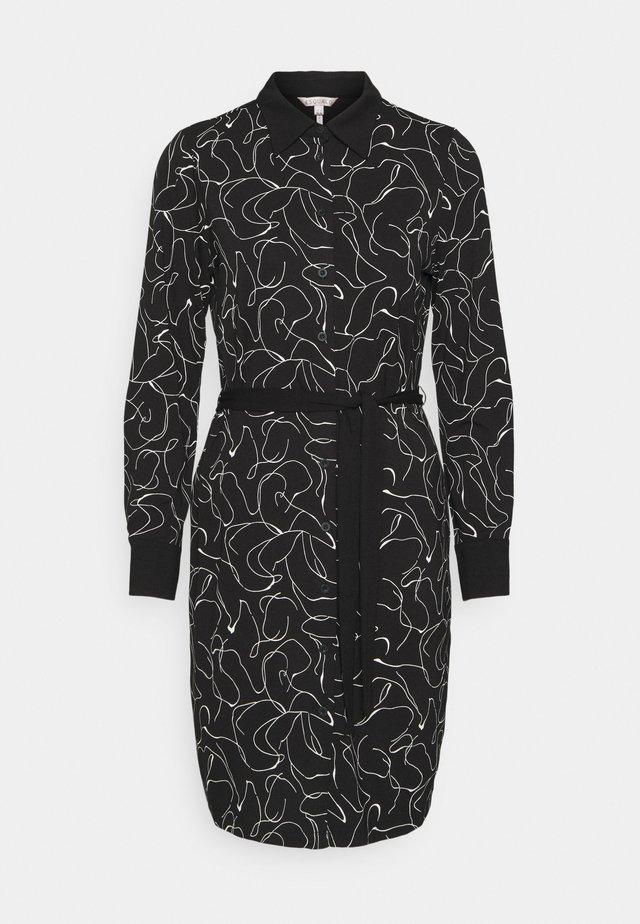 DRESS LINE - Shift dress - black