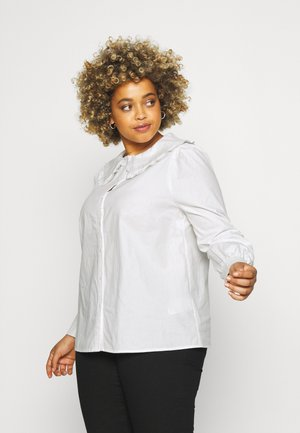 CARPANDANO COLLAR SHIRT - Button-down blouse - cloud dancer