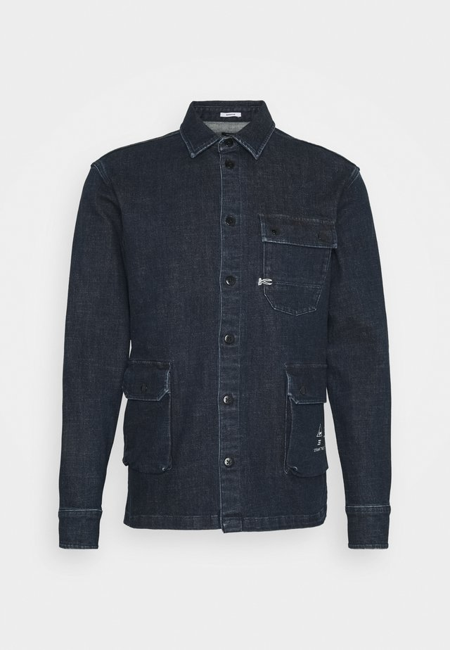 TRAVEL - Denim jacket - blue