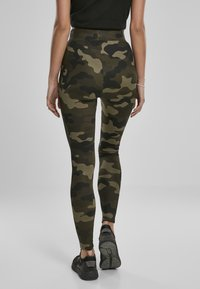 Urban Classics - Leggings - Trousers - wood camo - 1