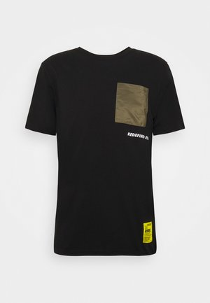PAX TEE - T-shirt con stampa - black