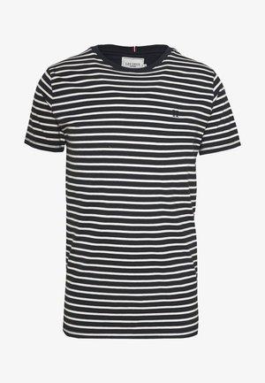 SAILOR  - Print T-shirt - dark navy/off white