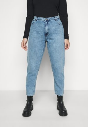 CARELLY  - Straight leg jeans - light blue denim